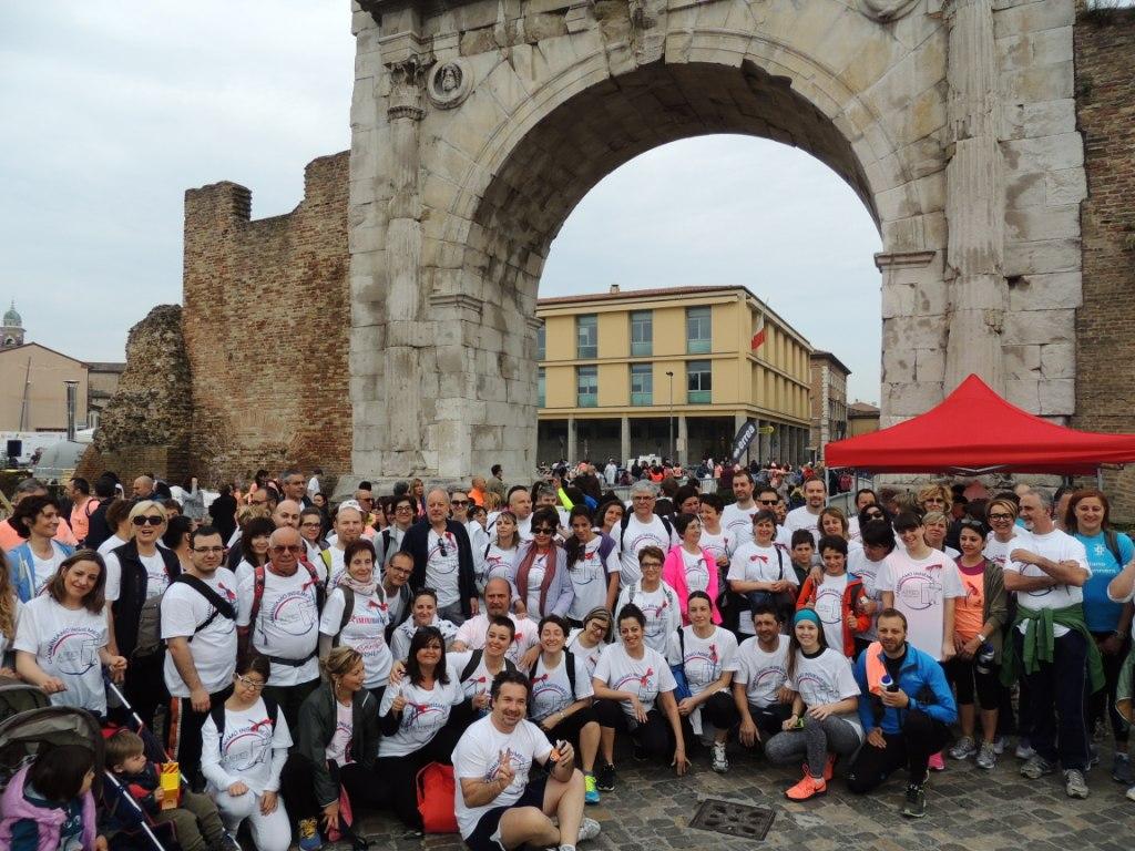 ANED alla Rimini Marathon
